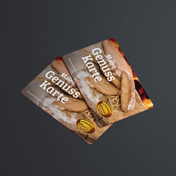 Höreders Brot und Stollenshop Genuss Karte