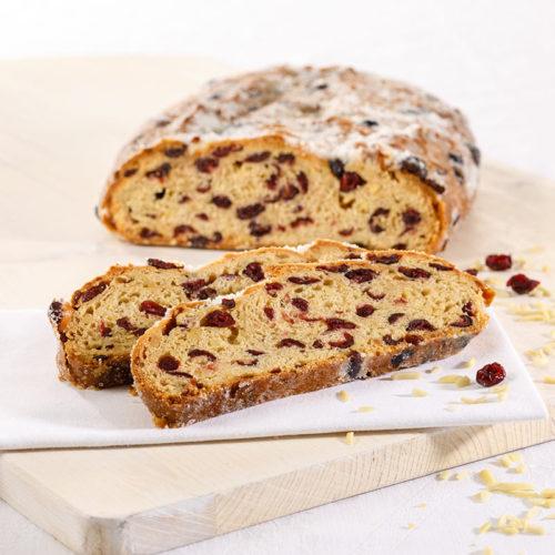 Höreders Brot und Stollenshop stollen Cranberry Mandel